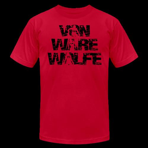 Von Ware Wolfe - Mens - T-shirt - Men's Fine Jersey T-Shirt