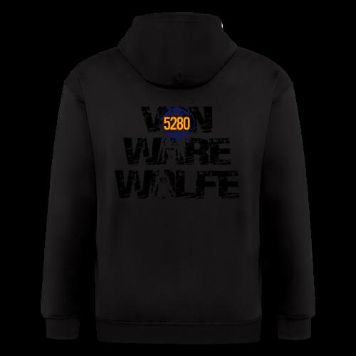 Von Ware Wolfe - Mens - T-shirt - Men's Zip Hoodie