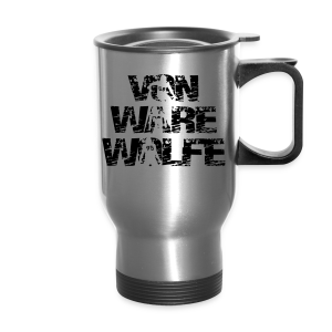 Von Ware Wolfe - Mens - T-shirt - Travel Mug