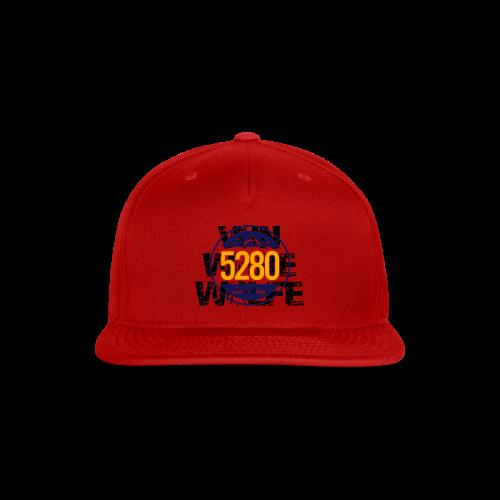 Von Ware Wolfe - Mens - T-shirt - Snap-back Baseball Cap