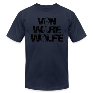 Von Ware Wolfe - Hoodie - Men's T-Shirt by American Apparel