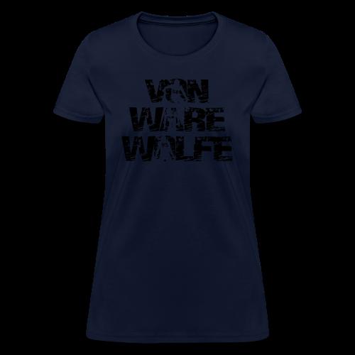 Von Ware Wolfe - Hoodie - Women's T-Shirt