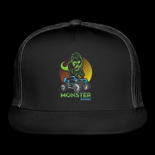 Kids Dinosaur Monster Truck - Trucker Cap