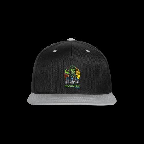 Kids Dinosaur Monster Truck - Snap-back Baseball Cap