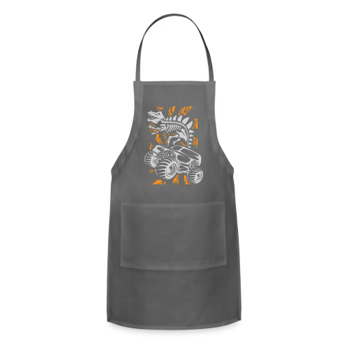 Monster Truck Dino - Adjustable Apron