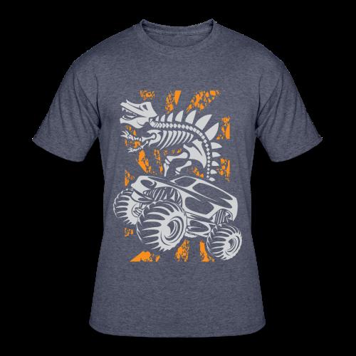 Monster Truck Dino - Men's 50/50 T-Shirt