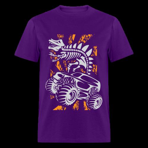 Monster Truck Dino - Men's T-Shirt