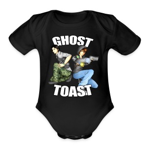 Ghost & Toast - Short Sleeve Baby Bodysuit