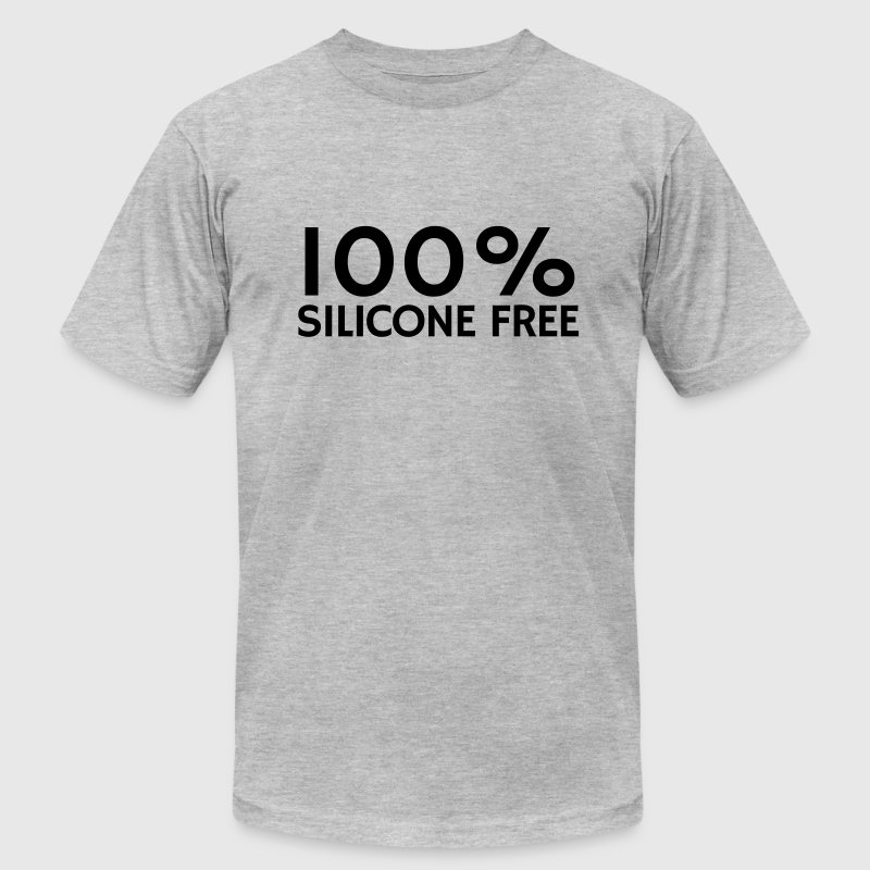 100% Silicone Free T-Shirts - Men's T-Shirt by American Apparel