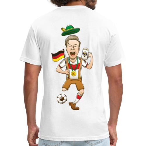 Germany is Four-time World Champion Hoodies - Fitted Cotton/Poly T-Shirt by Next Level