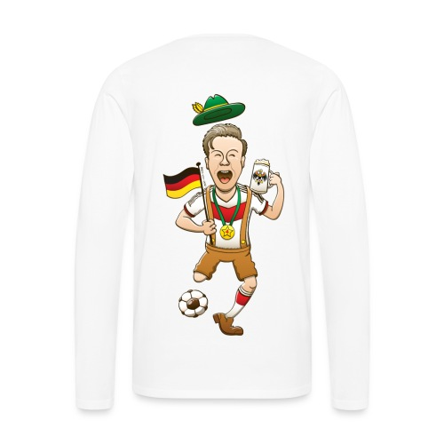 Germany is Four-time World Champion Hoodies - Men's Premium Long Sleeve T-Shirt