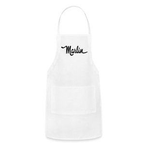 Marlin script - Adjustable Apron
