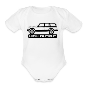 Jeep XJ High Output - Short Sleeve Baby Bodysuit