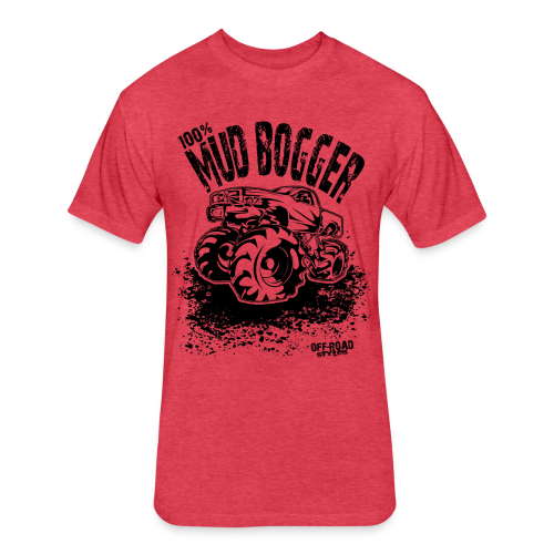 Mud Truck Bogger - Fitted Cotton/Poly T-Shirt by Next Level
