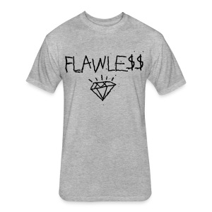 FLAWLESS - Unisex Crewneck - Fitted Cotton/Poly T-Shirt by Next Level