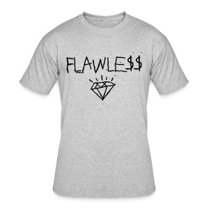 FLAWLESS - Unisex Crewneck - Men's 50/50 T-Shirt
