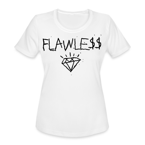 FLAWLESS - Unisex Crewneck - Women's Moisture Wicking Performance T-Shirt