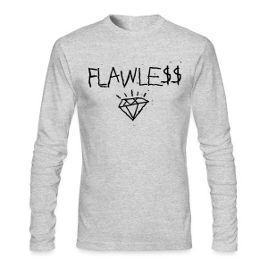 FLAWLESS - Unisex Crewneck - Men's Long Sleeve T-Shirt by Next Level