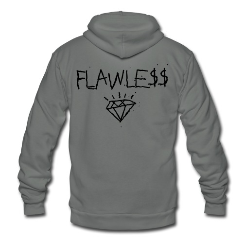 FLAWLESS - Unisex Crewneck - Unisex Fleece Zip Hoodie