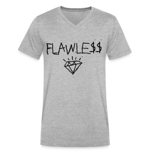FLAWLESS - Unisex Crewneck - Men's V-Neck T-Shirt by Canvas
