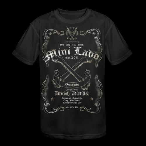 Mini Ladd Whiskey Mens - Kid's Moisture Wicking Performance T-Shirt
