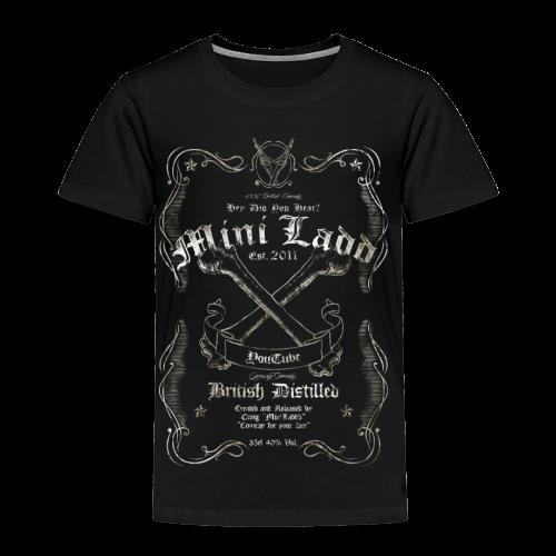 Mini Ladd Whiskey Mens - Toddler Premium T-Shirt