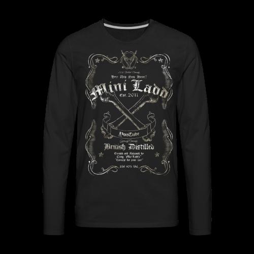 Mini Ladd Whiskey Mens - Men's Premium Long Sleeve T-Shirt