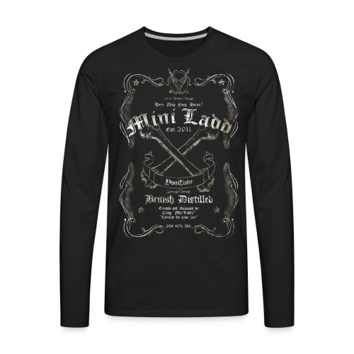 Mini Ladd Whiskey Mens - Men's Premium Long Sleeve T-Shirt