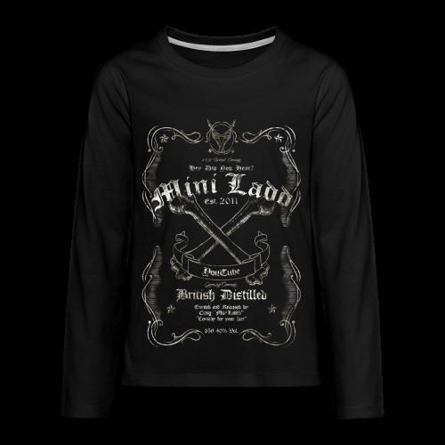 Mini Ladd Whiskey Mens - Kids' Premium Long Sleeve T-Shirt