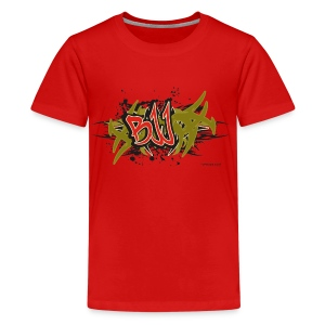 Jiu Jitsu - BJJ Graffiti - TC - Kids' Premium T-Shirt