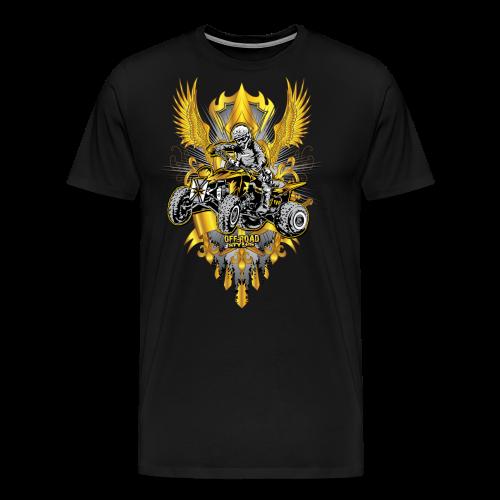 Motocross Quad Trophy Shirt - Men's Premium T-Shirt