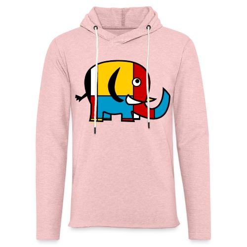 Mondrian Elephant Kids T-Shirt - Unisex Lightweight Terry Hoodie