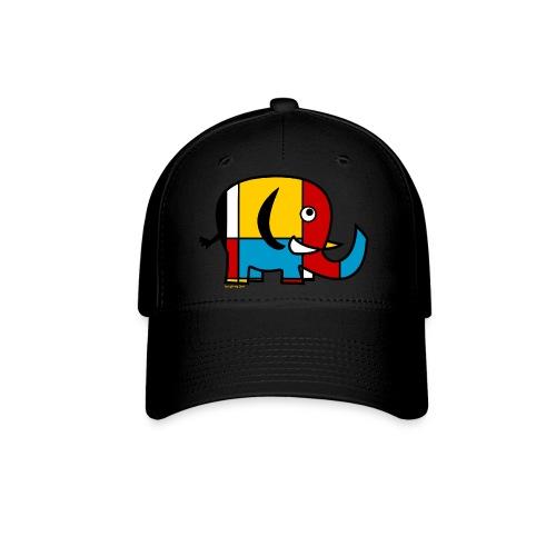 Mondrian Elephant Kids T-Shirt - Baseball Cap