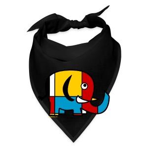 Mondrian Elephant Kids T-Shirt - Bandana