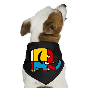 Mondrian Elephant Kids T-Shirt - Dog Bandana