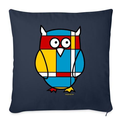 Mondrian Owl Kids T-Shirt - Throw Pillow Cover