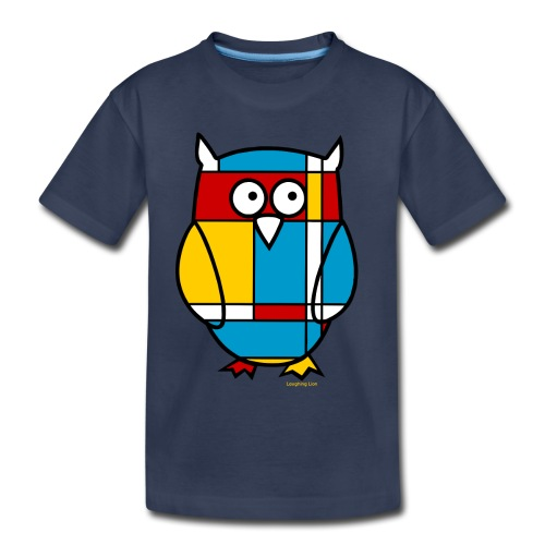 Mondrian Owl Kids T-Shirt - Toddler Premium T-Shirt