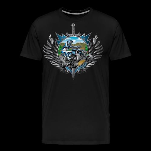 Freestyle ATV Heraldic Blue - Men's Premium T-Shirt