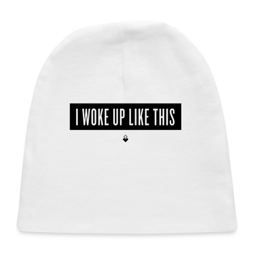 I Woke Up Like This - Baby Short-Sleeve One Piece - Baby Cap