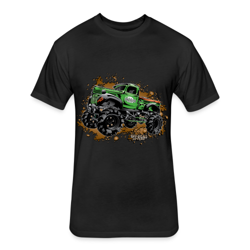 Wicked Over Budget Truck  - Fitted Cotton/Poly T-Shirt by Next Level