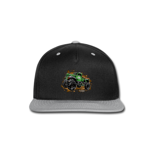 Wicked Over Budget Truck  - Snap-back Baseball Cap