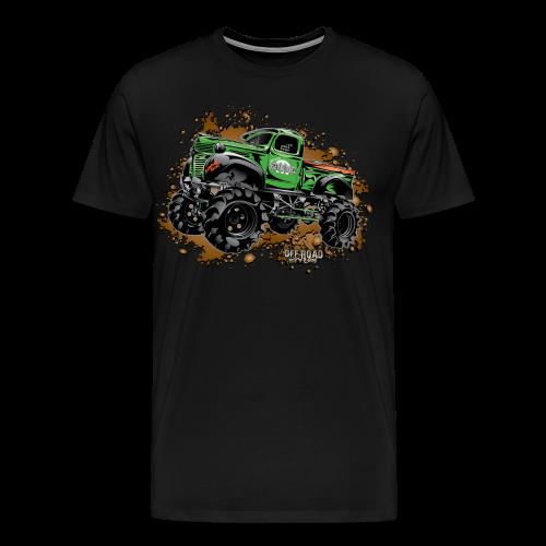 Wicked Over Budget Truck  - Men's Premium T-Shirt