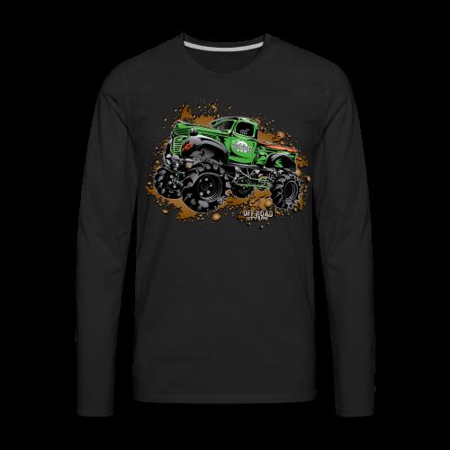 Wicked Over Budget Truck  - Men's Premium Long Sleeve T-Shirt