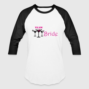 team bride cocktails with ring Tanks - Baseball T-Shirt
