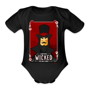 Something Wicked This Way Comes - Short Sleeve Baby Bodysuit