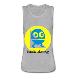 Chops the Diabolic Alcoholic - Women's Flowy Muscle Tank by Bella