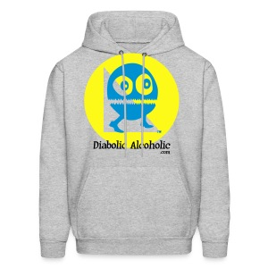 Chops the Diabolic Alcoholic - Men's Hoodie