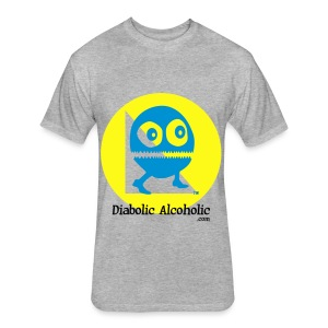 Chops the Diabolic Alcoholic - Fitted Cotton/Poly T-Shirt by Next Level