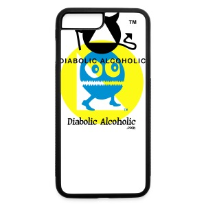 Chops the Diabolic Alcoholic - iPhone 7 Plus/8 Plus Rubber Case