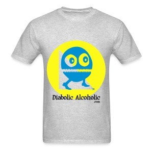 Chops the Diabolic Alcoholic - Men's T-Shirt